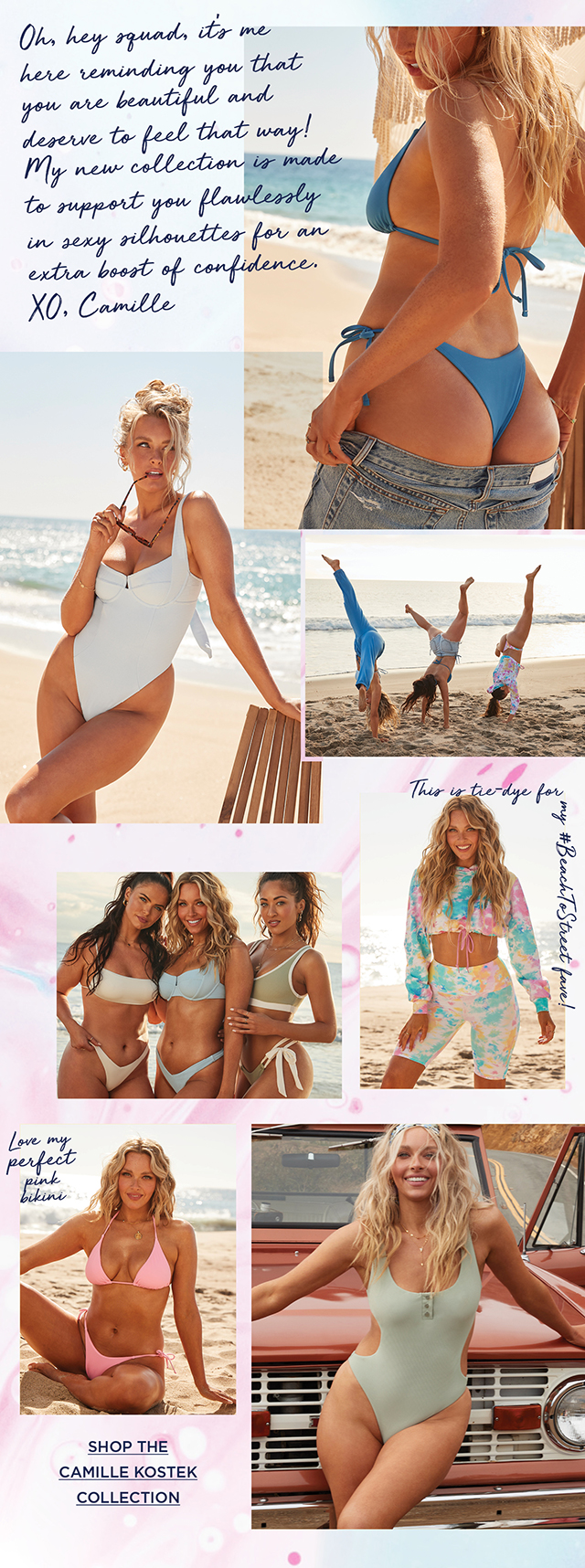 Shop The Camille Kostek Collection