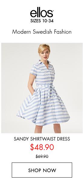 Shop Sandy Shirtwash Dress