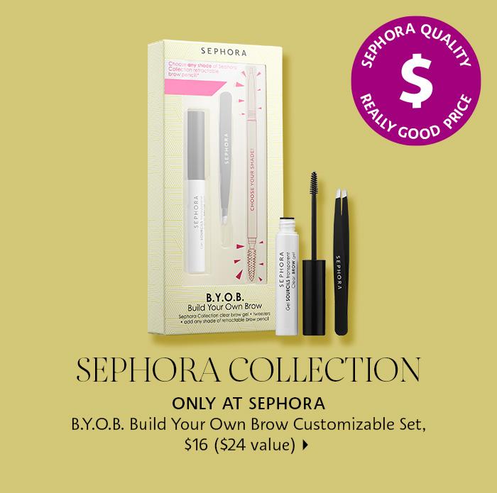 Sephora Collection BYOB Build Your Own Brow Customizable Set