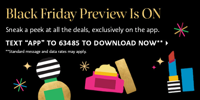 Black Friday Preview is ON