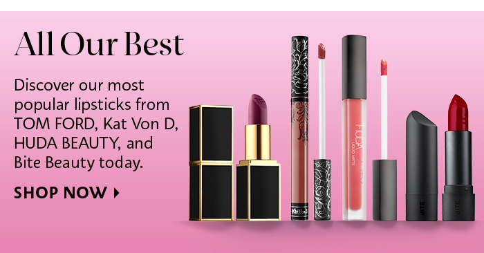 Sephora: most popular lipsticks