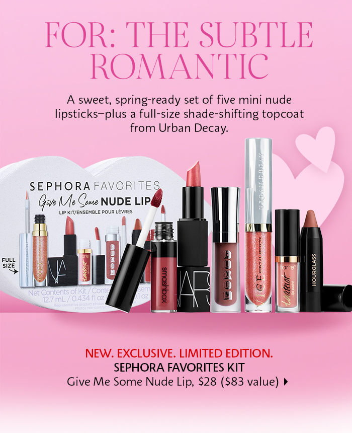 Sephora: For the subtle romantic