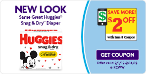 Save $2 Off Huggies Diapers!