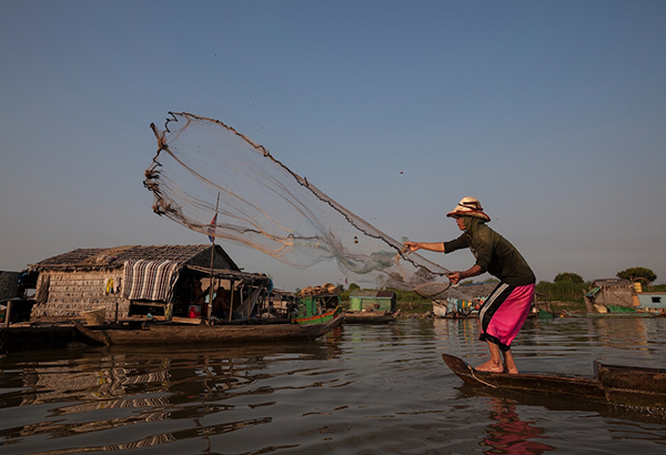Many fishers have long relied on the incredible bounty in the Mekong River system—including at the floating village of Chnok Tru on Tonle Sap lake—and new efforts are trying to make sure the catch is sustained for the future.
