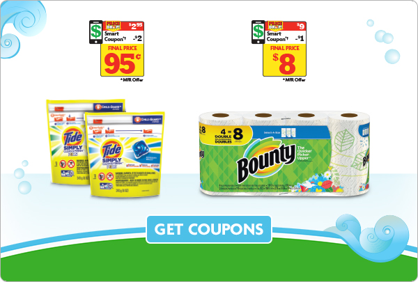 Save on Tide and Bounty!