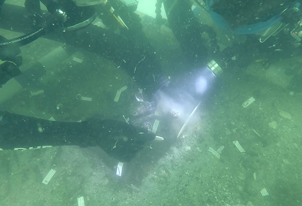 7,000-year-old Native American burial site found underwater