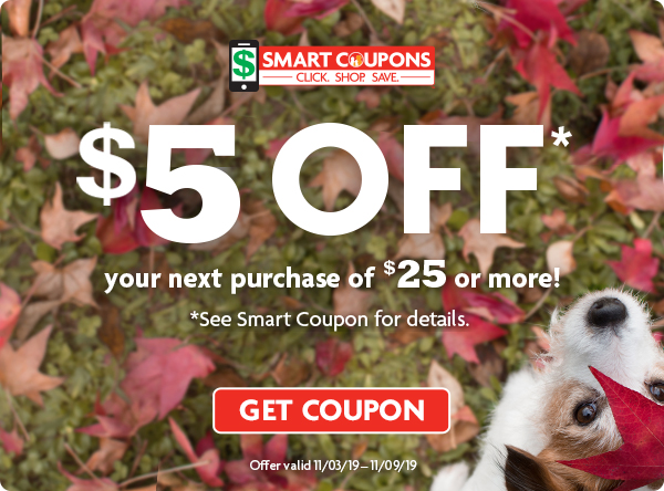 Save $5 off $25! Get Coupon Here