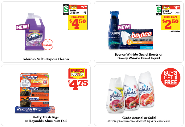 Great Cleaning Deals in the Ad