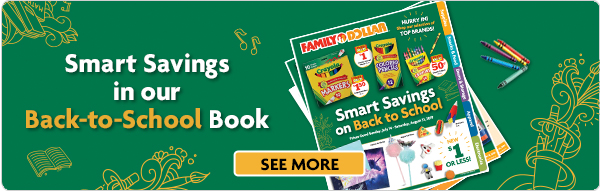 Save with our Back to School Book