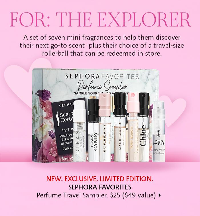 Sephora: for the explorer