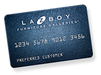 La-Z-Boy Furniture Galleries credit card